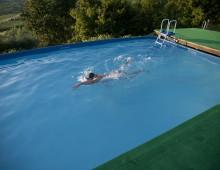 Ah, la piscina